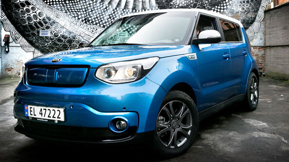 Test av Kia Soul Electric